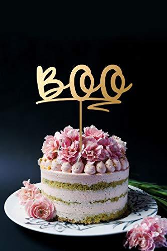 Boo Cake Topper Halloween Cake Topper Nightmare Before