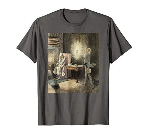 - A Christmas Carol Scrooge Shirt - The Ghost of Jacob Marley