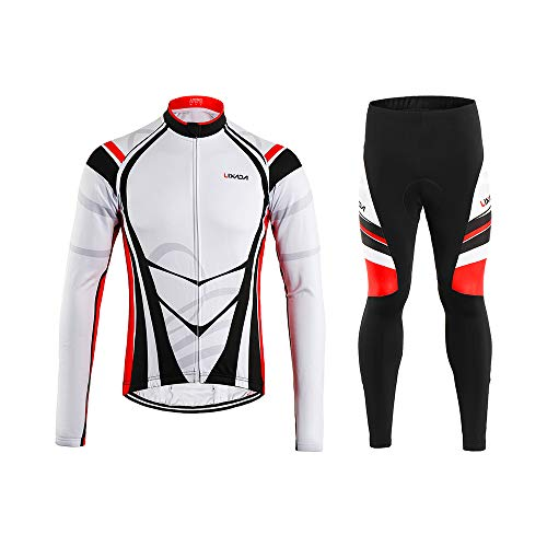 Lixada Men's Cycling Jersey Suit...
