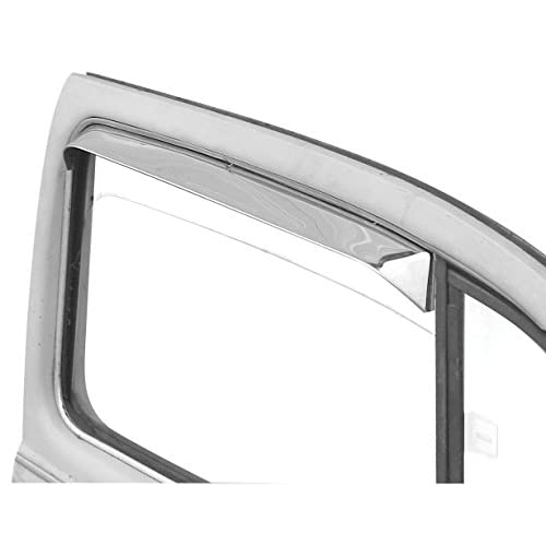 Hot EMPI VW Bus Window Vent Shades, Stainless Steel, Type 2 Bus, 68-79, Pair 9742 free shipping