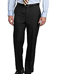 Men's Lightweight Washable Straight Fit Nylon Dress Pant
