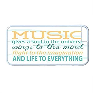 Plastic , VI8enu4CLy7 Case Cover For LG G3 with music quote design