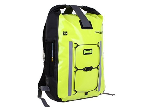 OverBoard Waterproof Pro-Vis Backpack Yellow 30-Liter [並行輸入品] B078BRGVFH