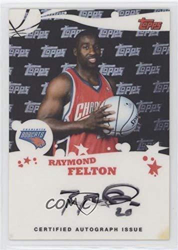 (Raymond Felton (Basketball Card) 2005-06 Topps - Rookie Photos Shoot Autographs #RSA-RF)