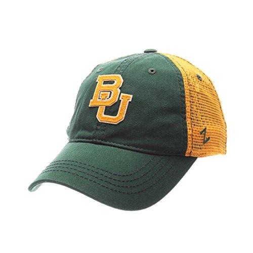 (Zephyr NCAA Baylor Bears Men's Springtime Relaxed Cap, Adjustable, Forest)