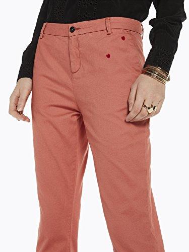 Small Rouge Embroidery Soda amp; terracotta 1188 Pantalon With Femme Scotch Chino 7RIqxg