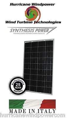 Best Cheap Deal for 100W 12V Poly-Crystalline Solar Panel 100 Watt 12 Volt Off Grid RV Boat Marine from Hurricane Wind Power/Synthesis Power - Free 2 Day Shipping Available