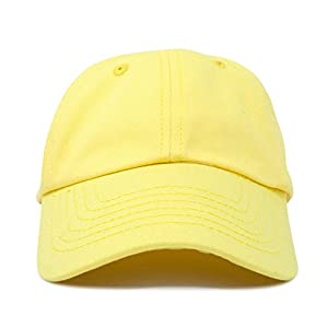 DALIX Kids Baseball Cap Childrens Hats Dad Hat Minions Yellow