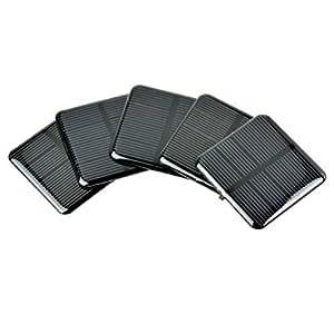Amazon.com: Aoshike - Panel solar epoxi de 5 V, 60 MA ...
