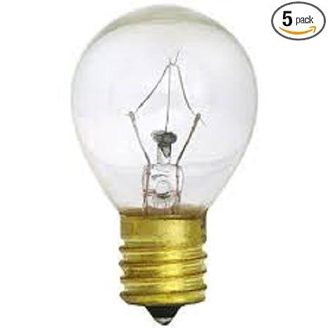 5pack S11 High Intensity 25 Watt 120v Lava Lamp 25w Light Bulb E17