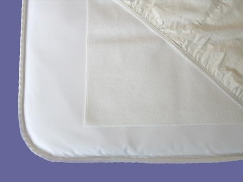 Naturepedic Waterproof Flat Crib Pad, 28 x 52