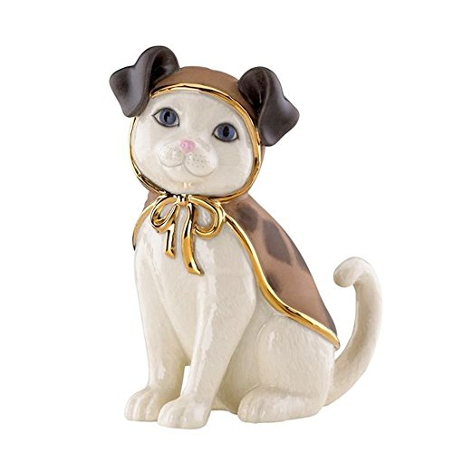 (Lenox Puppy CAT New in Box Kitty Cat )