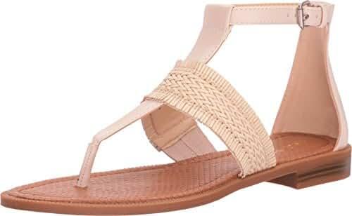 Nine West Women's Gabis Leather Dress Sandal