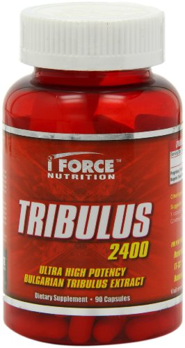 IForce Tribulus 2400 Capsules, 90-Count, Health Care Stuffs