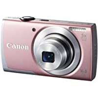 Canon - Powershot A2600 Pink 16Mp 5Xopt Product Category: Camera Hardware/Digital Point & Shoot Camera