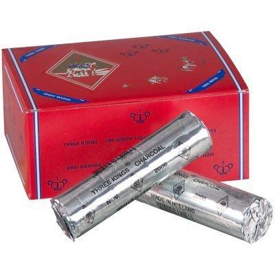 Briquetas de carbón 33mm Tres Reyes (Caja de 10) por New Age