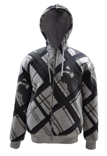 Mens Casual Jacket Slant Stripes