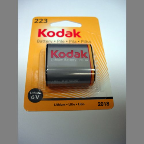 Crp2 Digital Camera Battery (Kodak MAX K223KLA-1 Lithium Photo Battery)