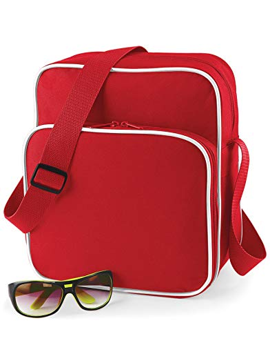 Sac Bag Bg26 Rouge Retro base Bandoulière Oxwx4Tq