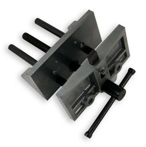 "6-1/2"" Woodworking Vise with Bench (Woodworking Bench Vise)"