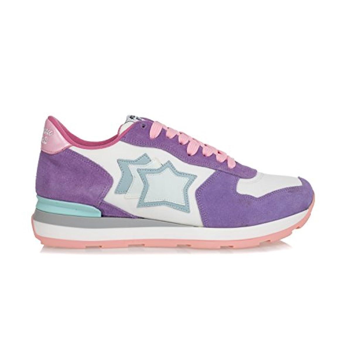 Atlantic Stars Scarpe Donna Sneakers 'vega' In Camoscio E Tessuto Tecnico