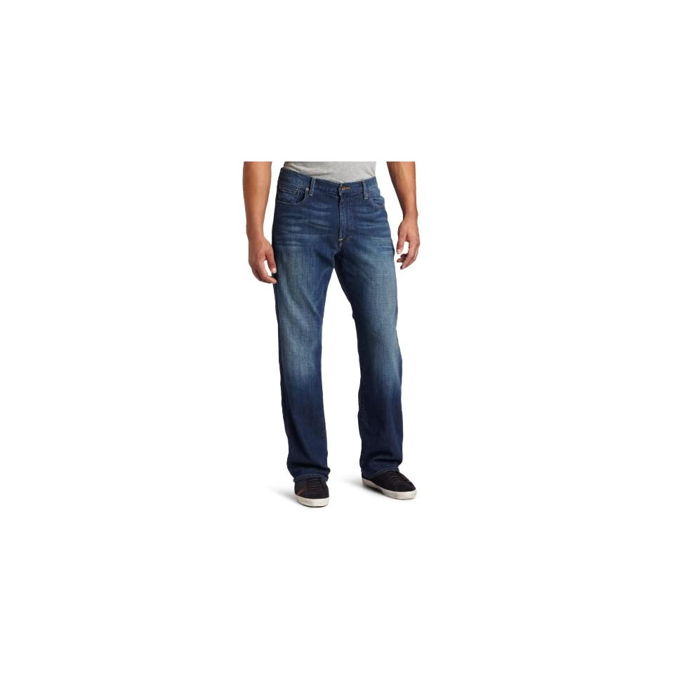 Lucky Brand Mens 181 Relaxed Straight Denim Jean, Sandstorm, 31X32