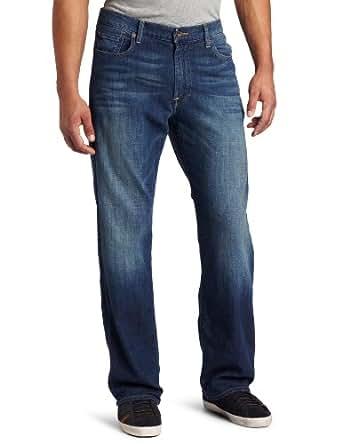 Lucky Brand Men's 181 Relaxed Straight Denim Jean, Sandstorm, 29X32