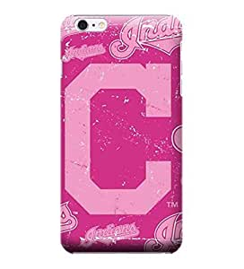 MLB-Cleveland Indians Skin Tough Phone Case Covers,Stylish Protective Covers Compatible For iphone 6(4.7)