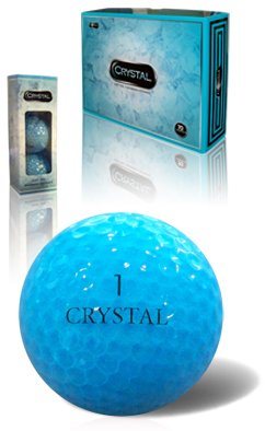 Fl Golf Crystal Golf Balls (Aqua), Outdoor Stuffs
