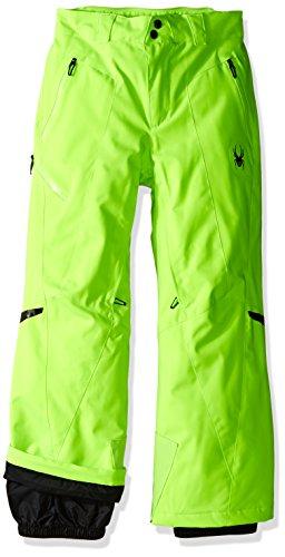 Spyder Boys Bormio Pants, Size 20, Bryte Green by Spyder
