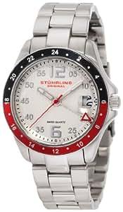 Stuhrling Original Women's 290.122TT12 Aquadiver Regatta Galleon Swiss Quartz Date Stainless Steel Bracelet Watch
