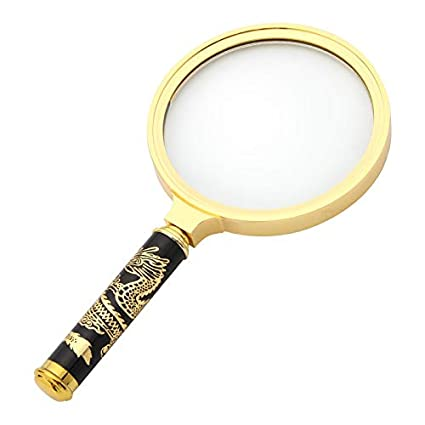 ae7c32fc82c6 Amazon.com : High Magnification Magnifier Handheld Portable HD 10 ...