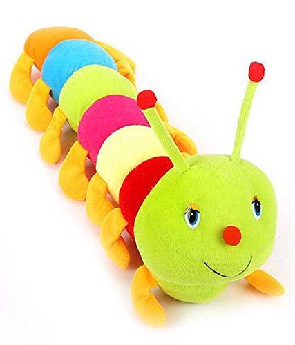 Lata Multicolor Cute Soft Caterpillar 55CM