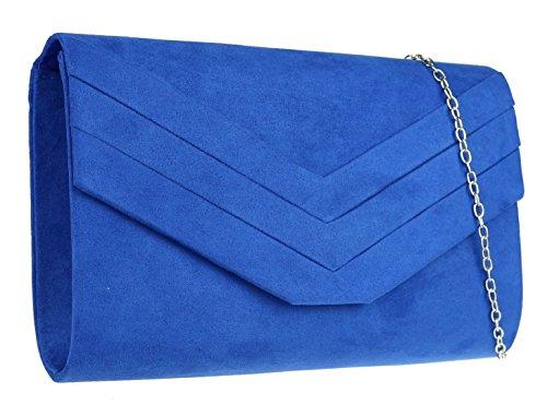 Girly marine Pochette femme bleu pour bleu Handbags rCY5qr