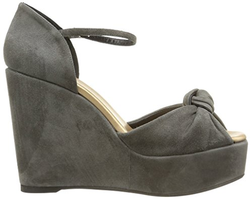 Castañer Kid Fabric ZAHARIA para Suede Gold Metallic Stone Zapatos Mujer Brown aPBxaw