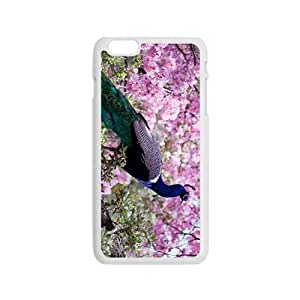 Blue Peacock Hight Quality Plastic Case for Iphone 6