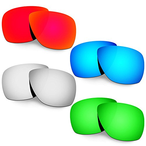 HKUCO Plus Mens Replacement Lenses For Oakley Breadbox - 3 pair xkhk0J
