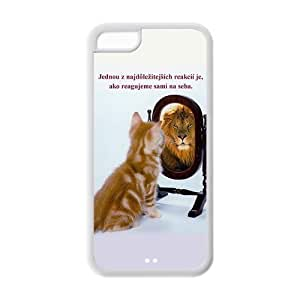 Hardshell Strong Protective Creative Mirror Beautiful Pictures Protective Cover Case for Iphone 5C TPU Case-4