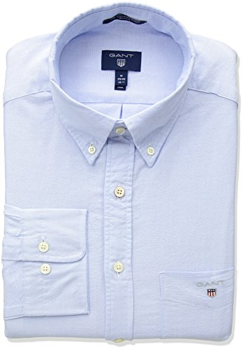 Bd Uomo 468 Reg Gant Blue Camicia Blu capri The Shirt Oxford RwRCxIyFSq