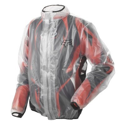 Fox Racing MX Fluid Jacket - Large/Clear