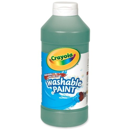 Crayola Washable Paint - 16 oz - 1Each - Green