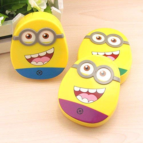 Buckle Up Minion Contact Lens Case – Set of 2 – Assorted