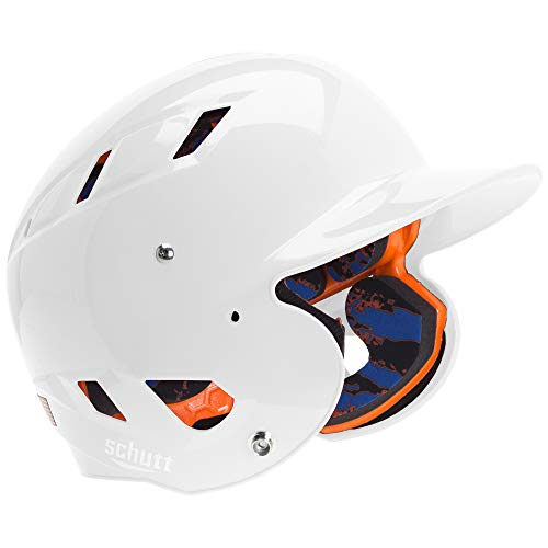 Schutt Sports AiR 5.6 Softball Batter's Helmet, White, - Batting Helmet White Schutt