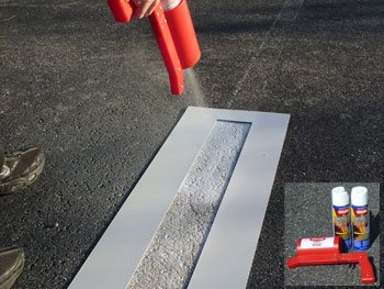 Parking Lot Line Touch-up Kit