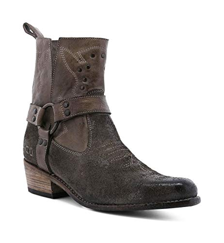 Bed|Stu Women's Canada Leather Bootie (8, Taupe MD)