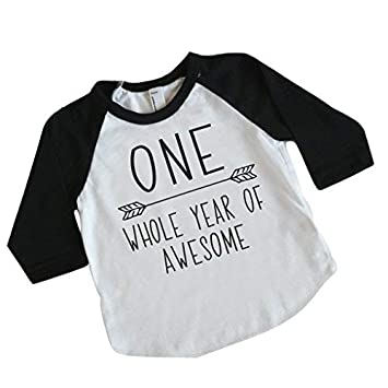 Amazon Boy First Birthday Shirt 1st Outfit 12 18