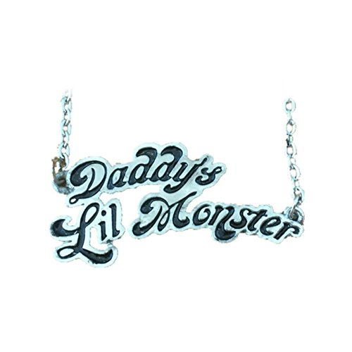 Athena Brand Harley Quinn Necklace Pendant Daddy's Little