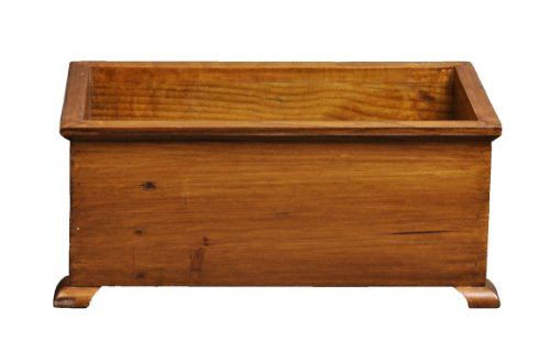 (Antique Revival Medium French Style Planter, Natural Finish)