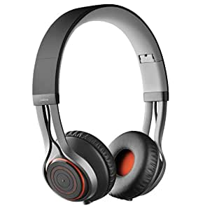 Jabra REVO Wireless Bluetooth Stereo Headphones - Retail Packaging - Black (Discontinued by Manufacturer)