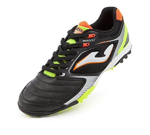 JOMA CALCETTO DRIBLING 601 BLACK-LEMON TURF 40.5